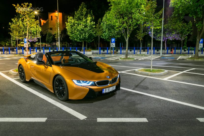 BMW i8 Roadster test drive 2018 65 830x553
