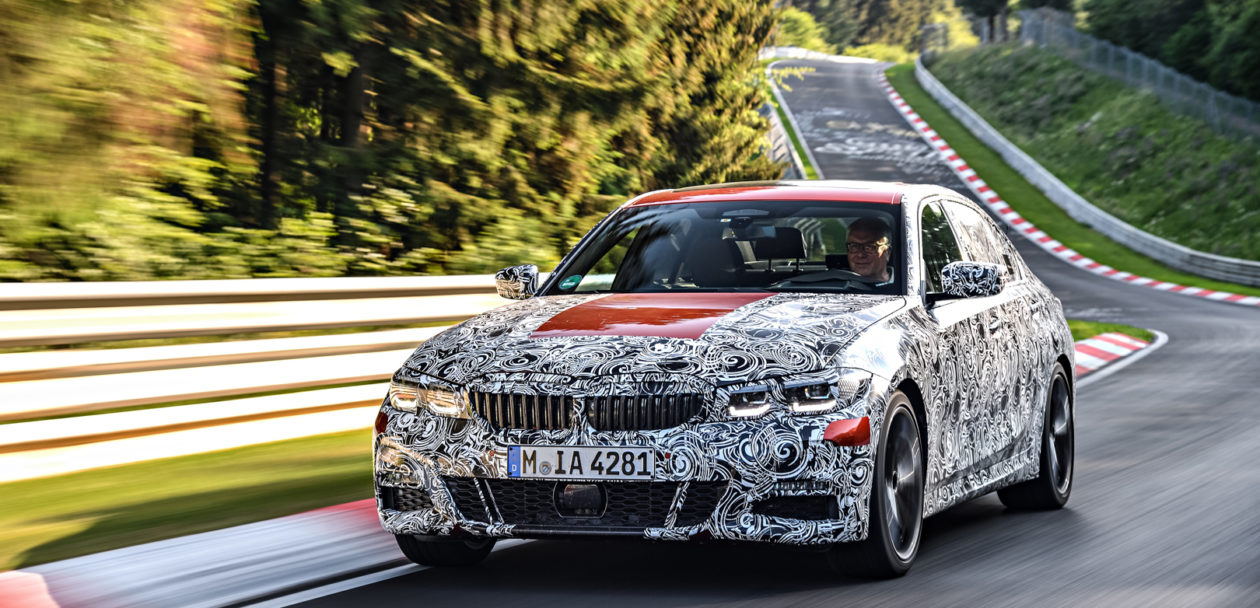 G20 BMW 3 Series Pre Production Drives 14 of 25 1260x608