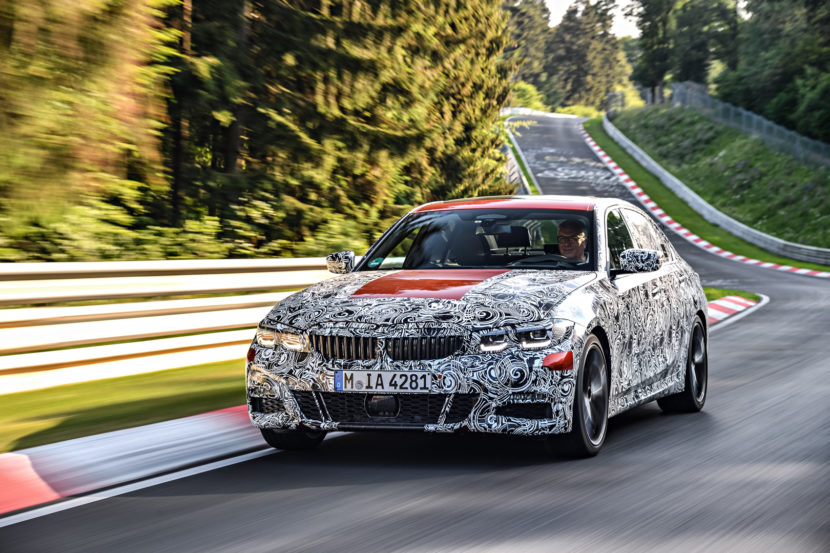 G20 BMW 3 Series Pre Production Drives 14 of 25 830x553