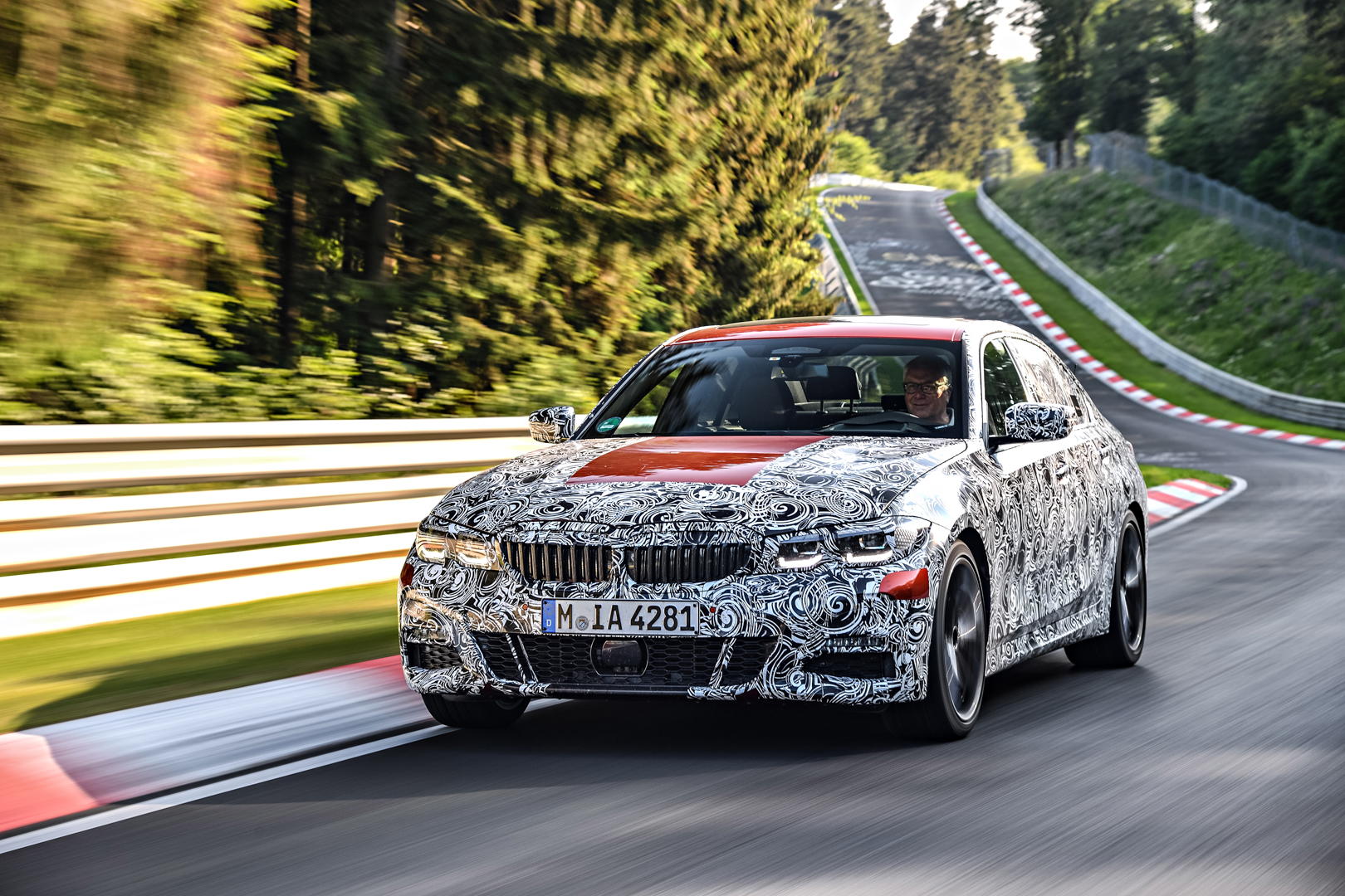 G20 BMW 3 Series Pre Production Drives 14 of 25