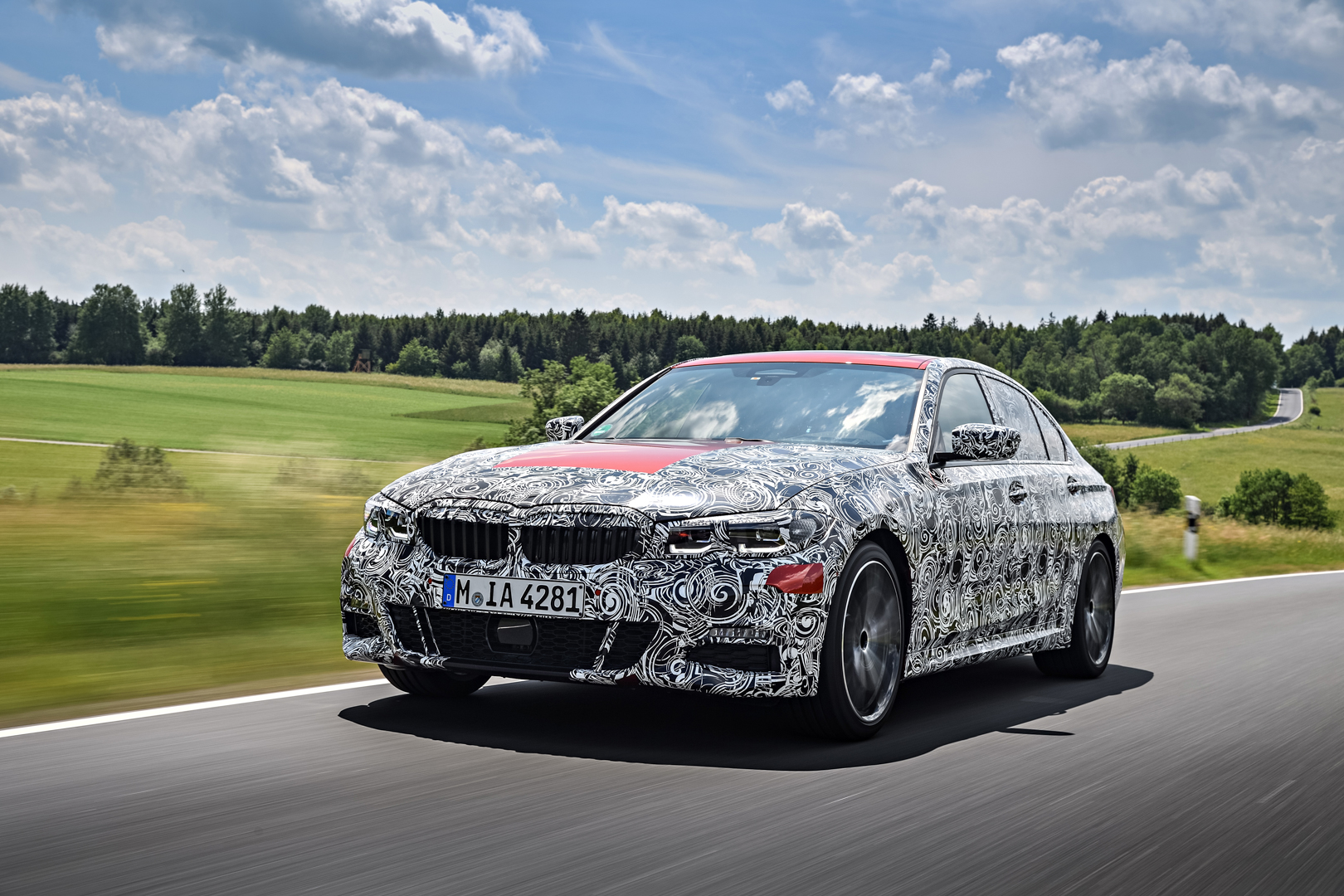 G20 BMW 3 Series Pre Production Drives 5 of 25