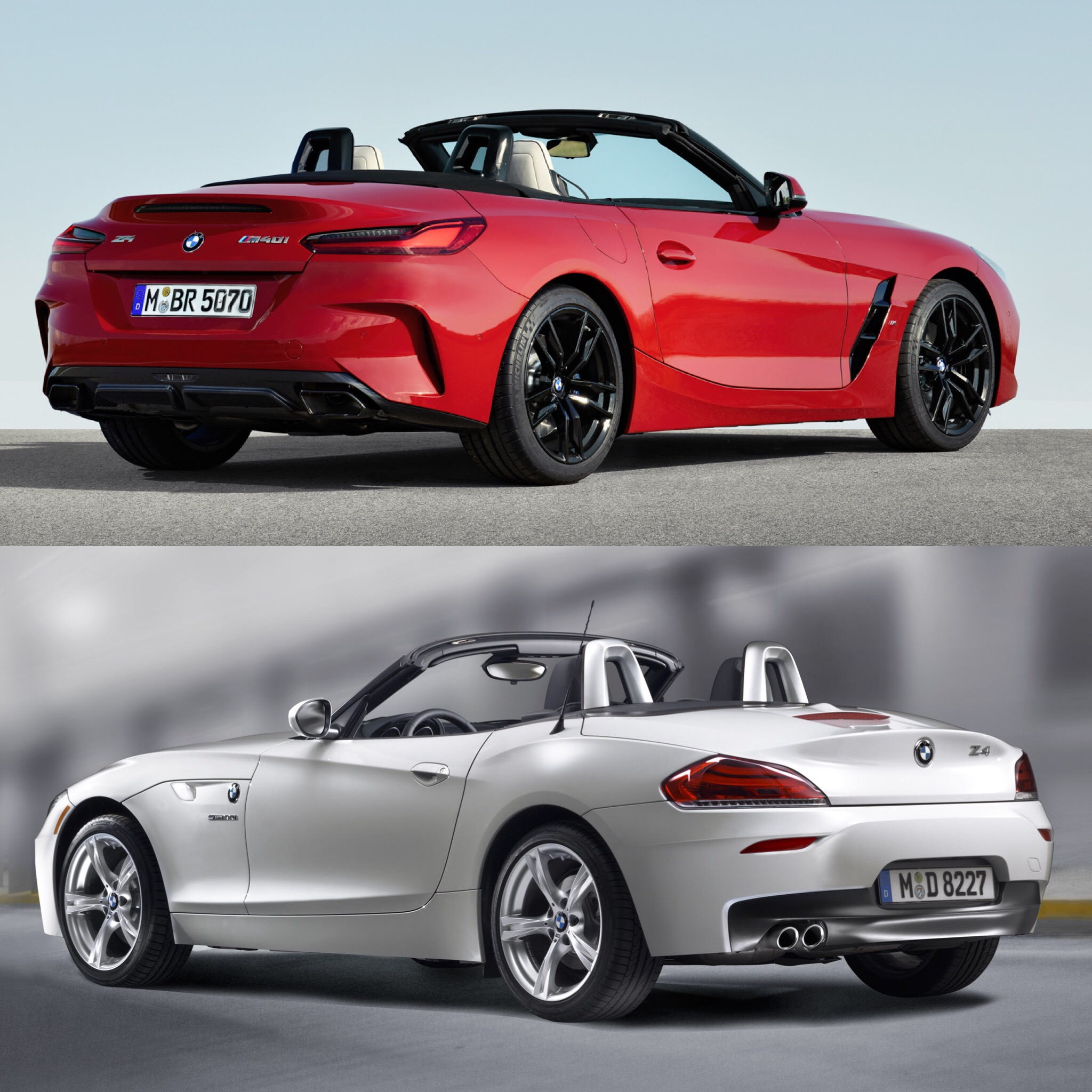 Bmw Z4 Reviews: Photo Comparison: G29 BMW Z4 Vs E89 BMW Z4