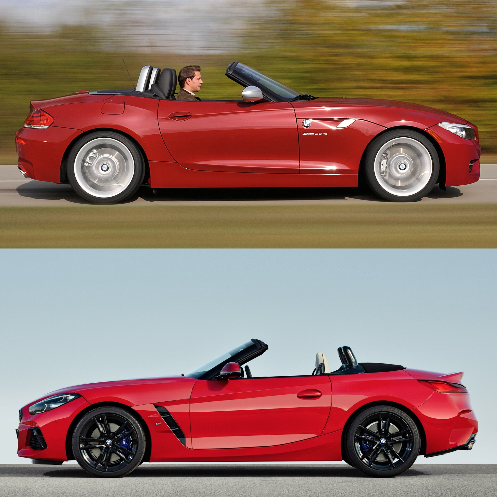 Bmw Z4 Convertible: Photo Comparison: G29 BMW Z4 Vs E89 BMW Z4