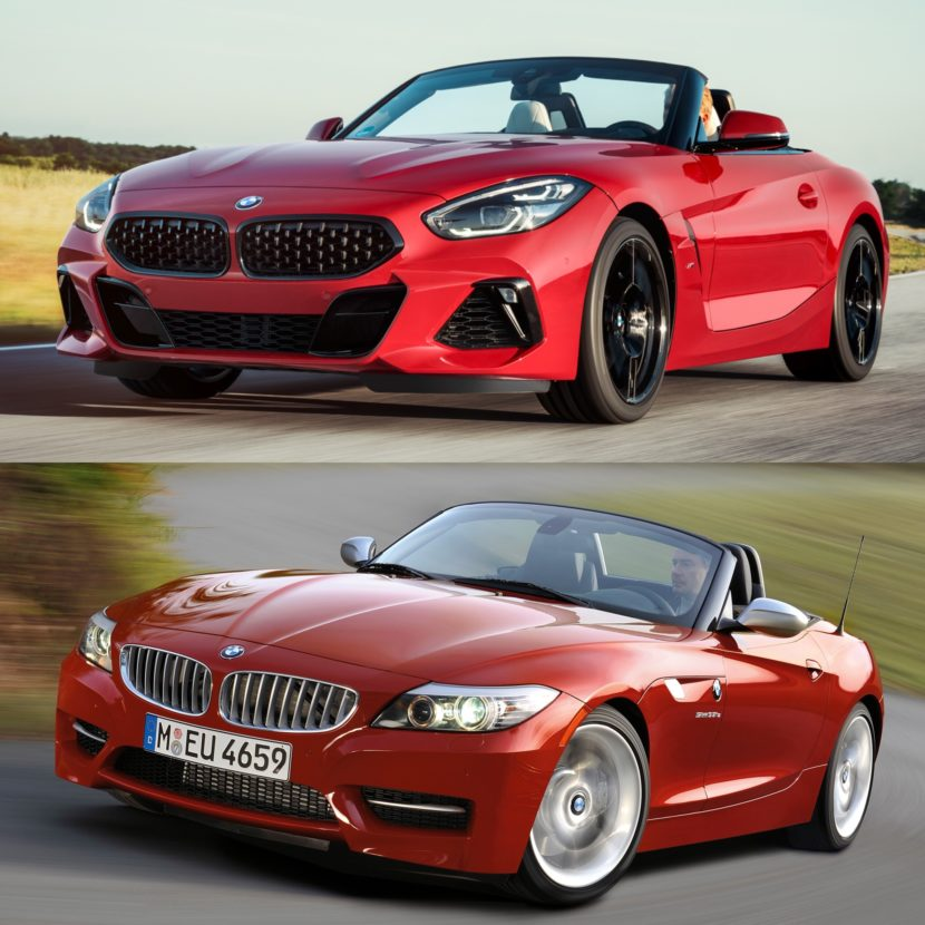 Bmw Z4 Used Cars: Photo Comparison: G29 BMW Z4 Vs E89 BMW Z4