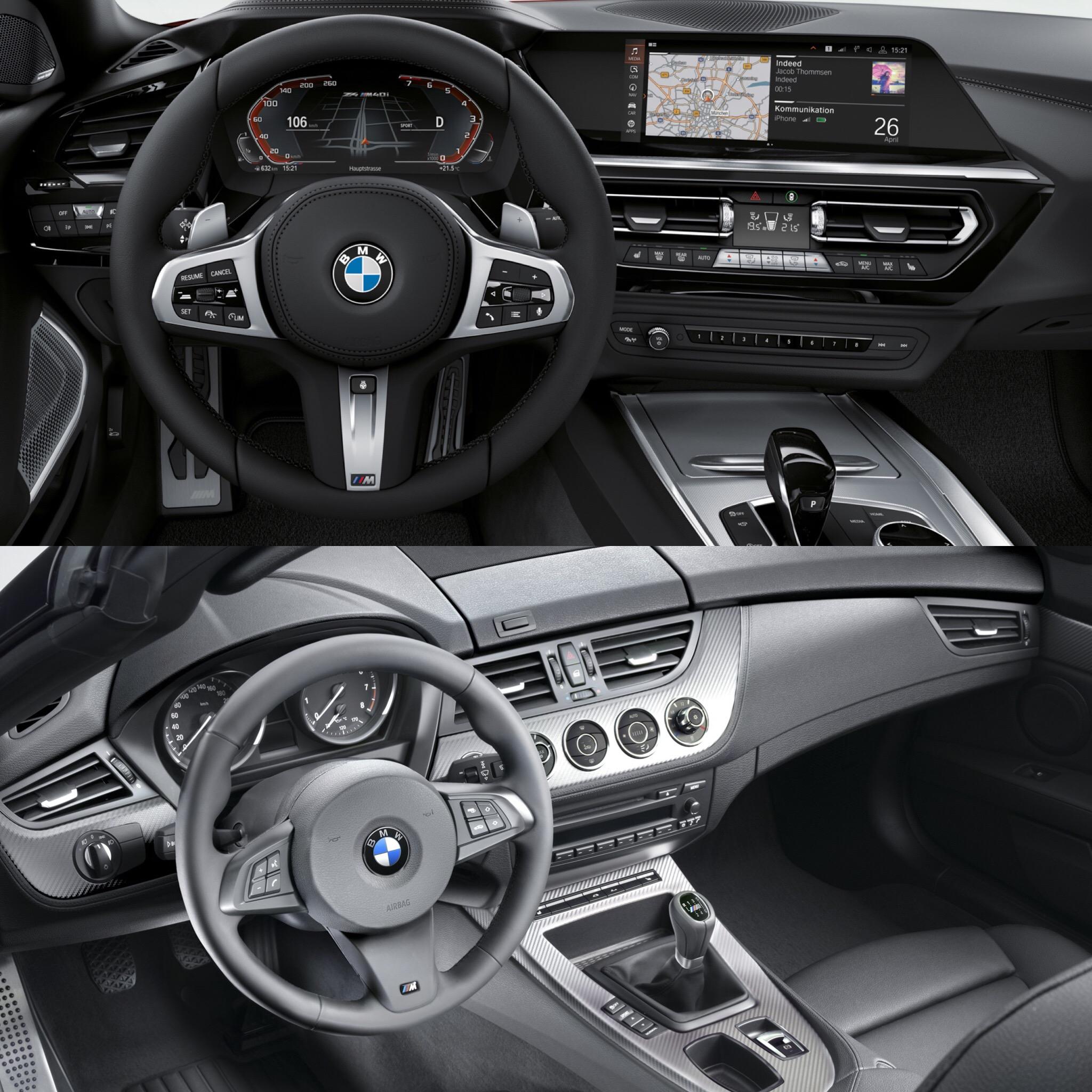 Bmw Z4 S: Photo Comparison: G29 BMW Z4 Vs E89 BMW Z4