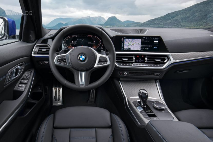 2019 BMW 3 Series G20 interior 01 830x553