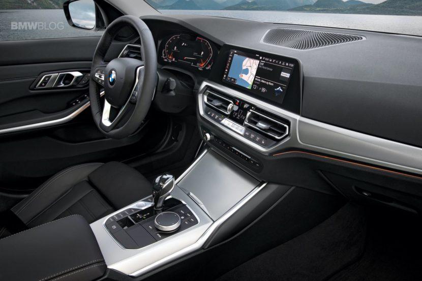 2019 BMW 3 Series G20 interior 10 830x553