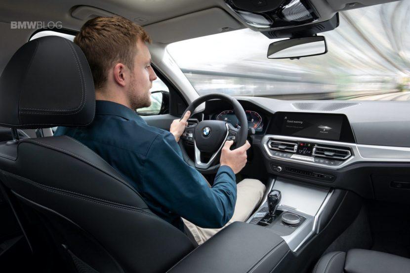 2019 BMW 3 Series G20 interior 12 830x553
