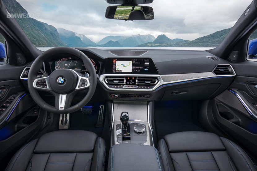 Spied Bmw 1 Series Hatch Will Get Same Interior As The 3 Series