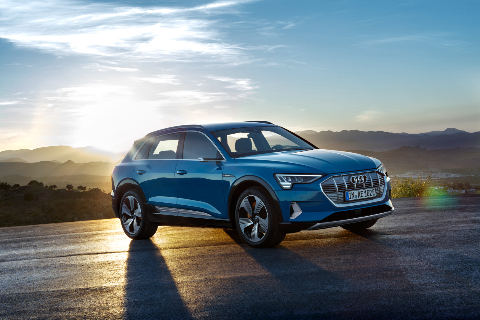 Audi E Tron Takes On Ix3 With 240 Plus Miles Of Range 0