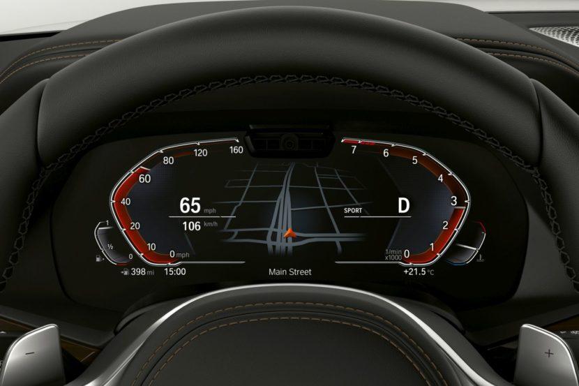 BMW Live Cockpit 7 830x553