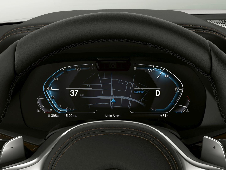 New Bmw Cockpit Includes Driver Camera For Semi Autonomous