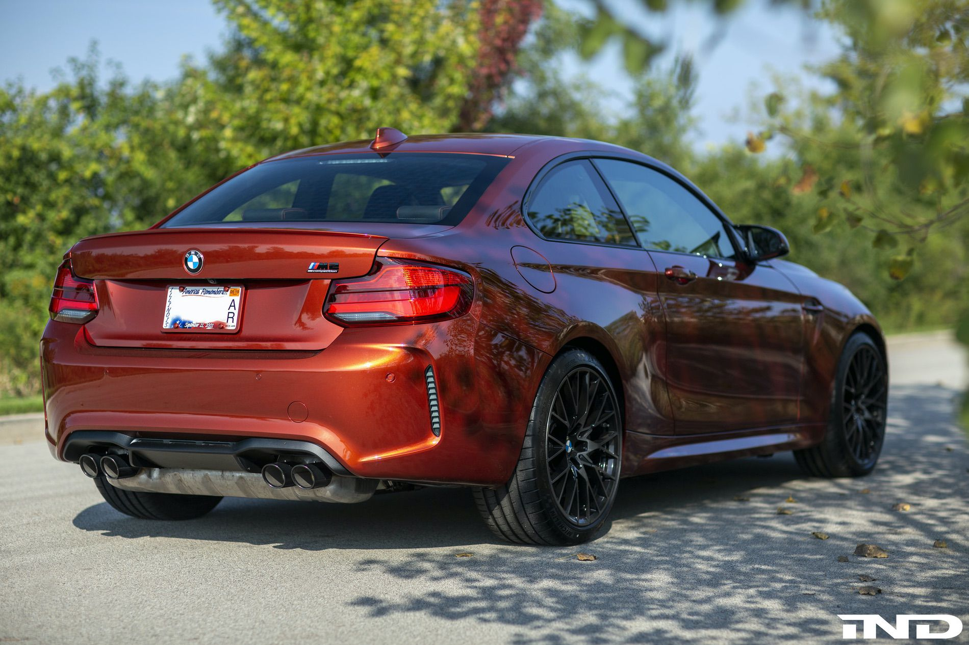 video joe achilles drives the bmw m2 competition. Black Bedroom Furniture Sets. Home Design Ideas