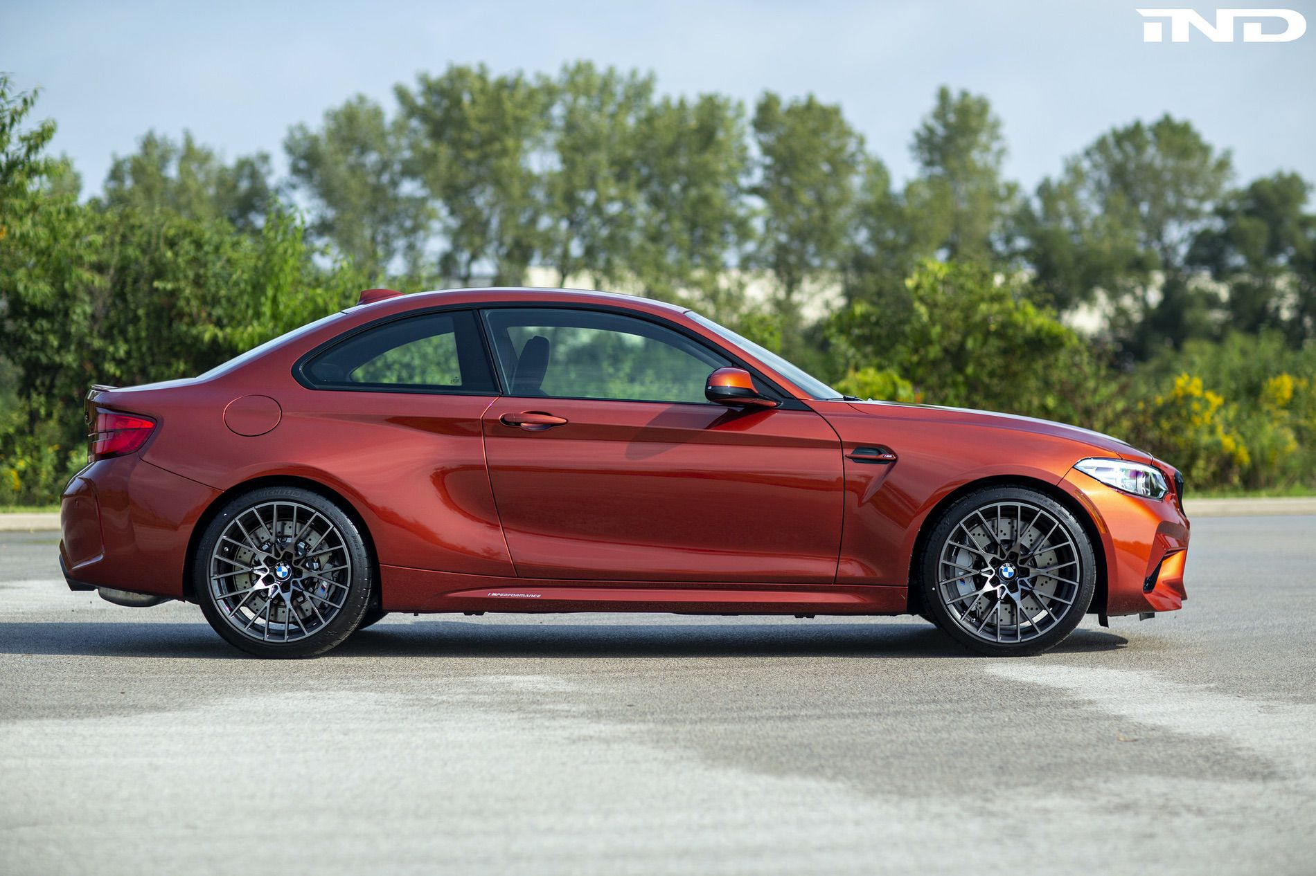 BMW M2 Competition Sunset Orange review 24