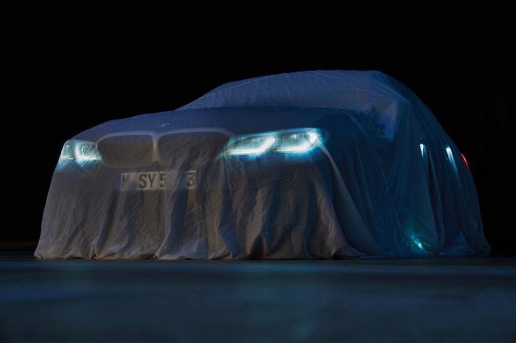BMW M340i teaser
