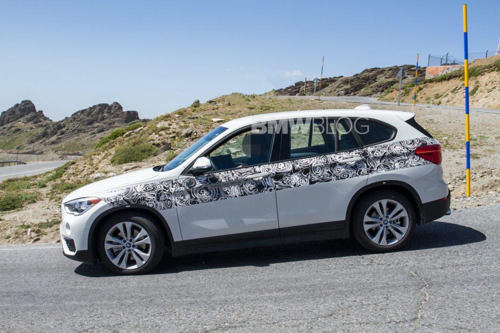 2019 - [BMW] X1 restylé [F48 LCI] BMW-X1-hybrid-spy-photos-05-1024x683