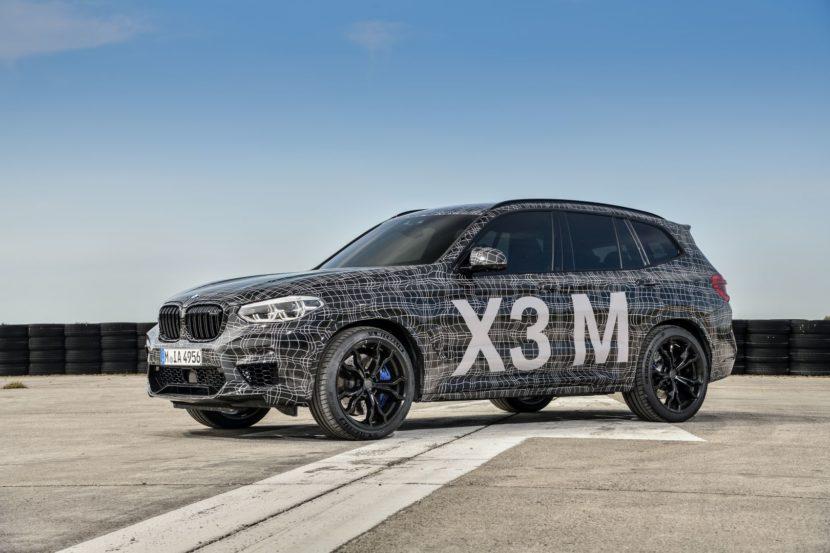 BMW X3 M 3 830x553