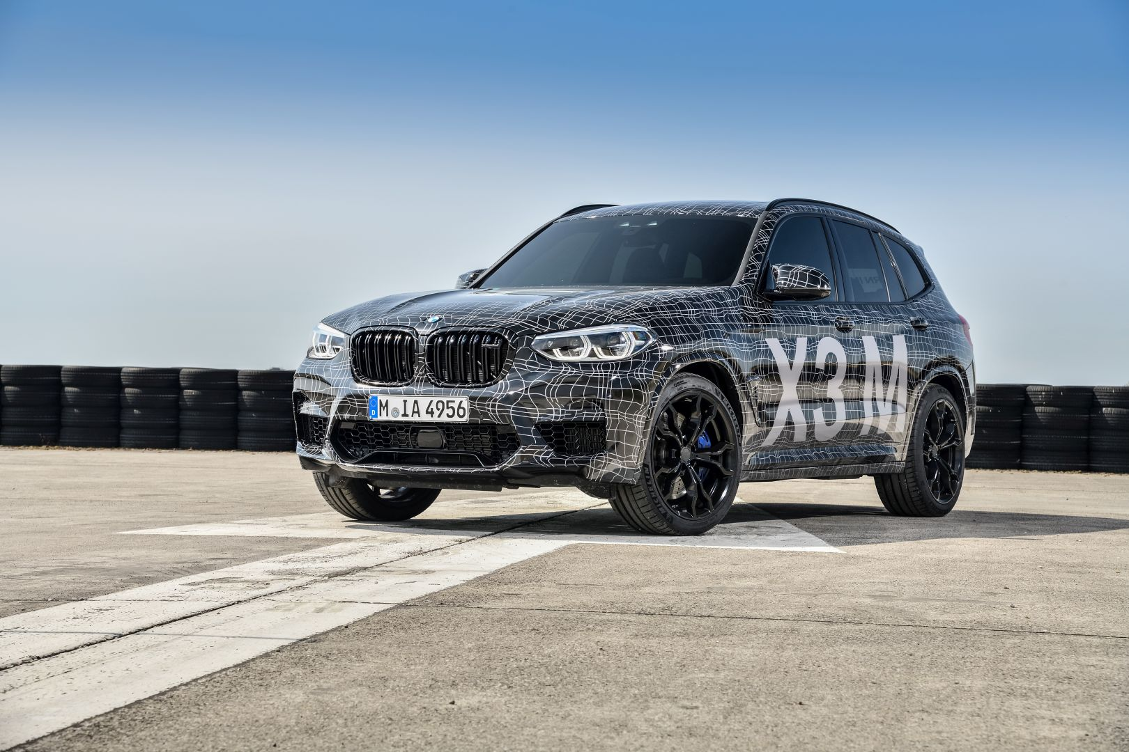 SPIED: BMW X3 M caught in... an iDrive screen?
