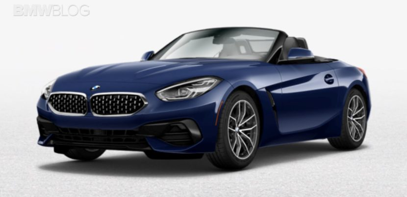 See The New Bmw Z4 G29 In Different Colors Bmw Blog Howldb
