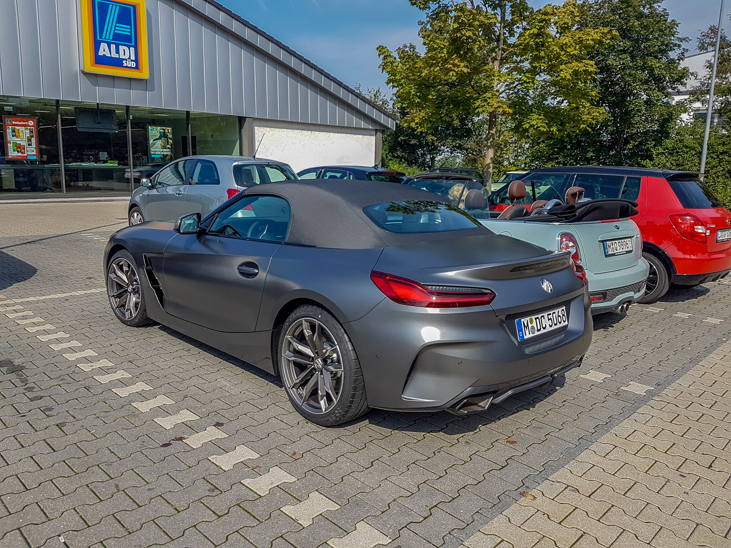 Real Life Photos Of Bmw Z4 In Grey