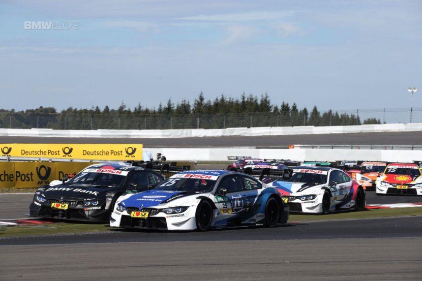 Marco Wittmann finishes third at Nurburgring
