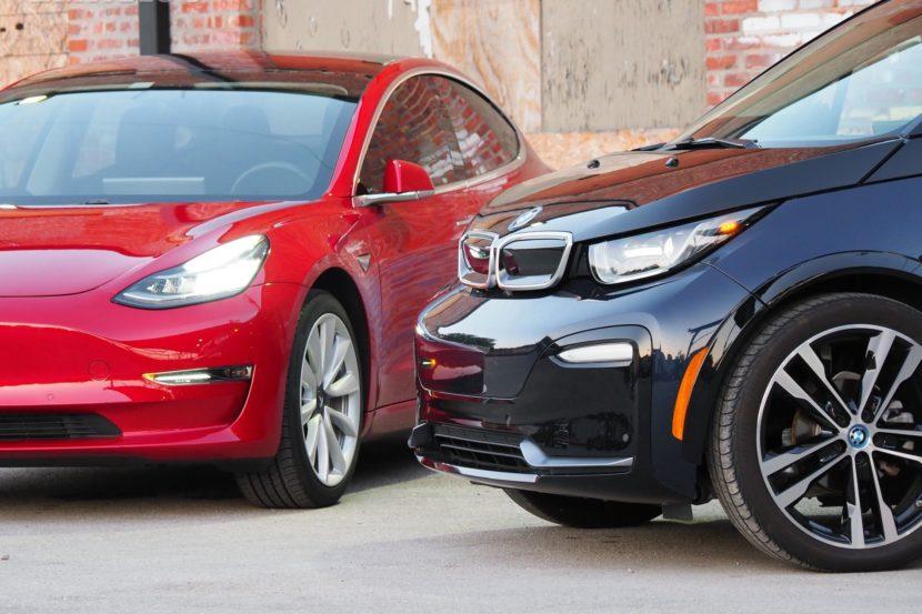 BMW i3 tesla model 3 02 830x553