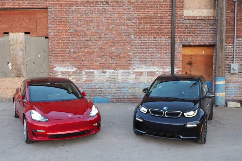 BMW i3 tesla model 3 10 830x553