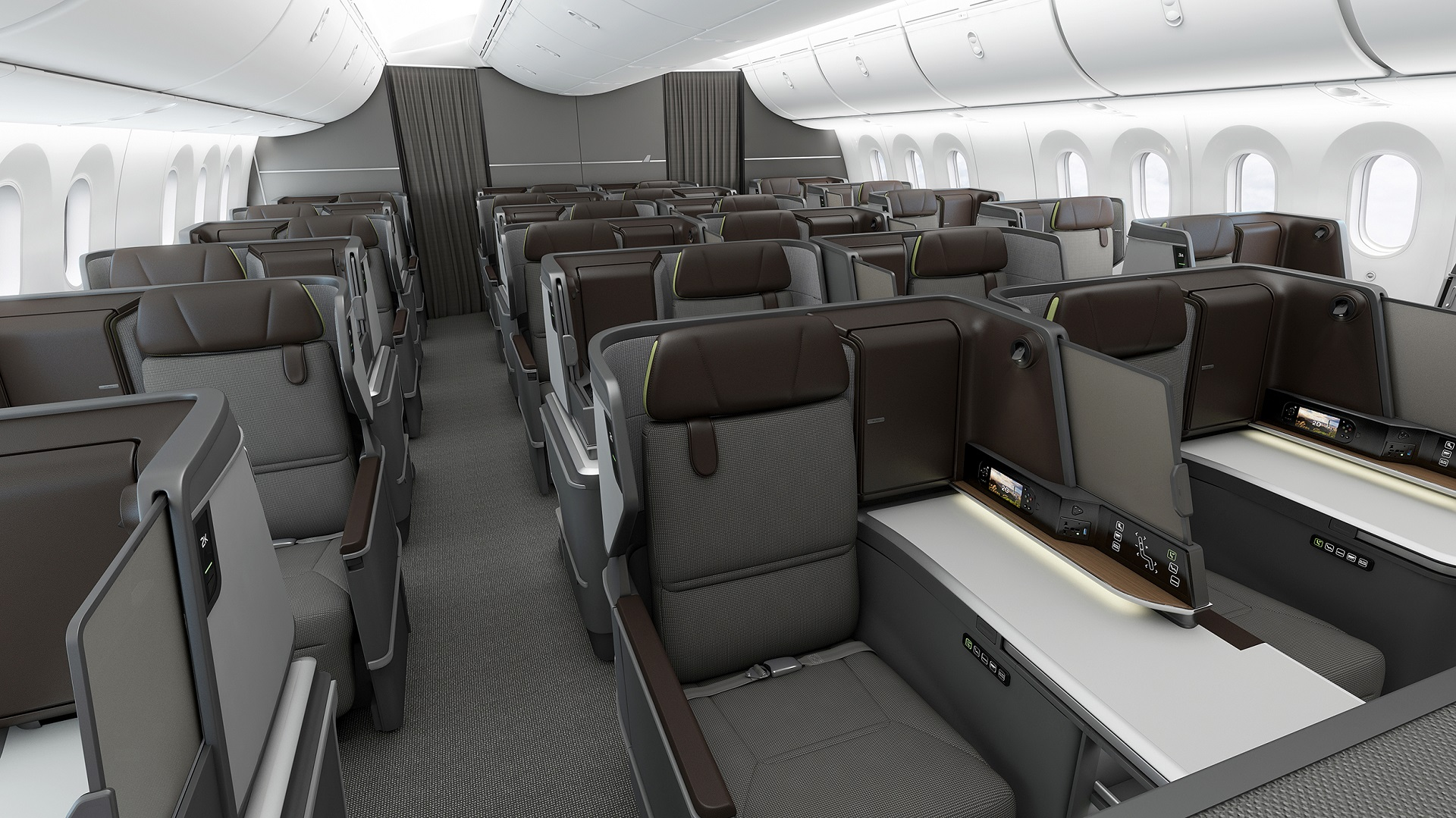 Bmw Subsidiary Designworks Creates Business Class Seats