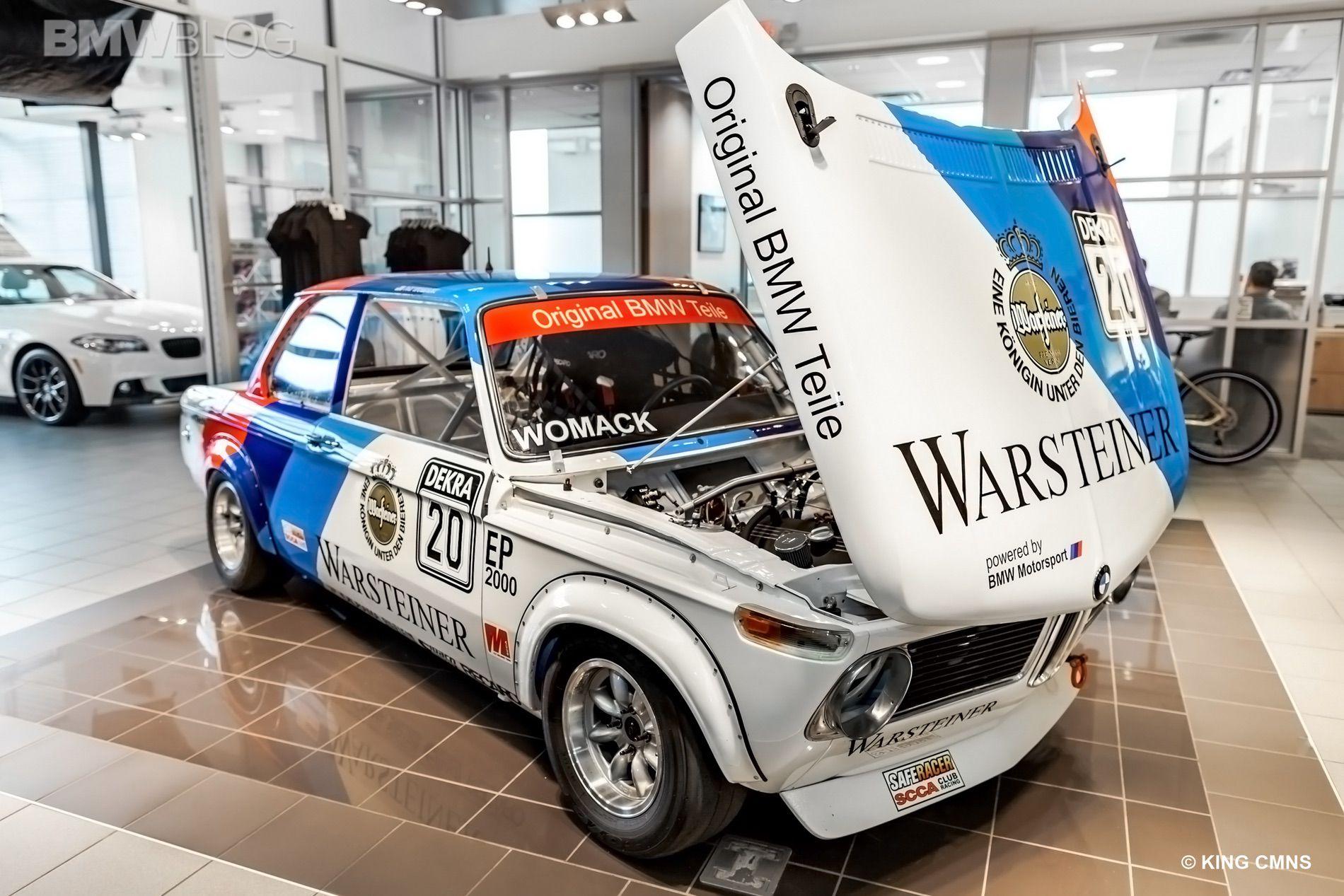 PATS VINTAGE BMW RACE CAR 37