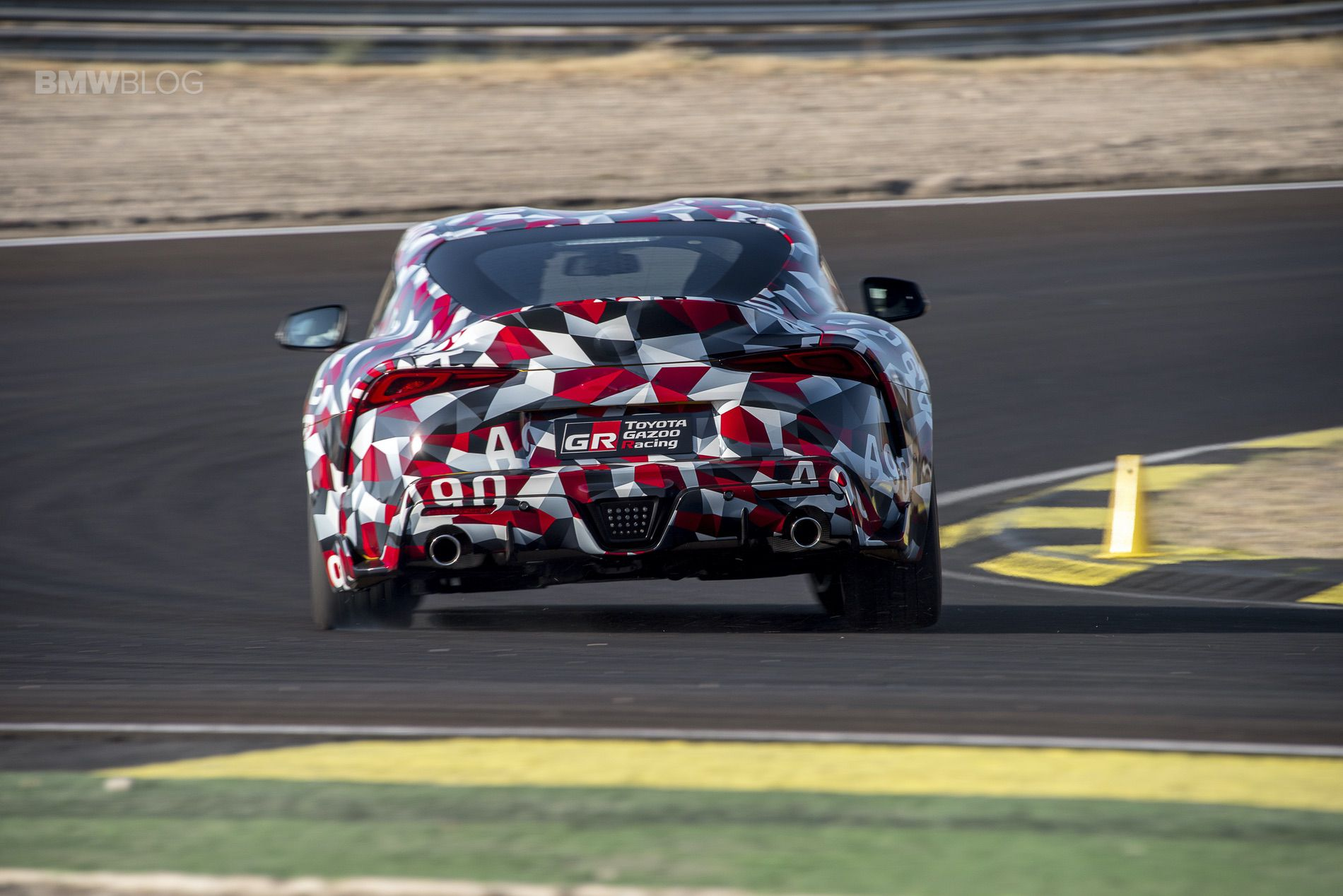 Test Drive Toyota Supra A90 Prototype Circuit From Here And So Far I Have Prototyped Most Of A After Arriving At The Jarama Quick Brief Explains Key Points Car Confirms That Prototypes We Are Going To