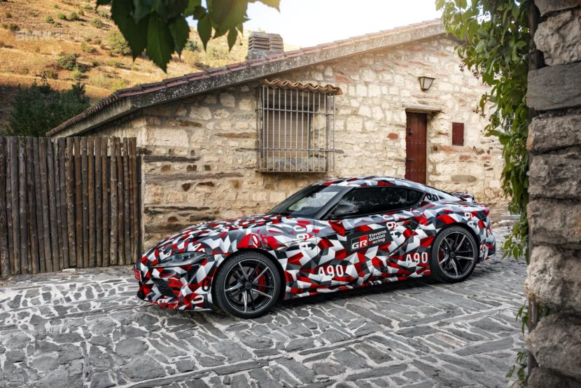 2020 toyota supra #001 being auctioned at barrett jackson