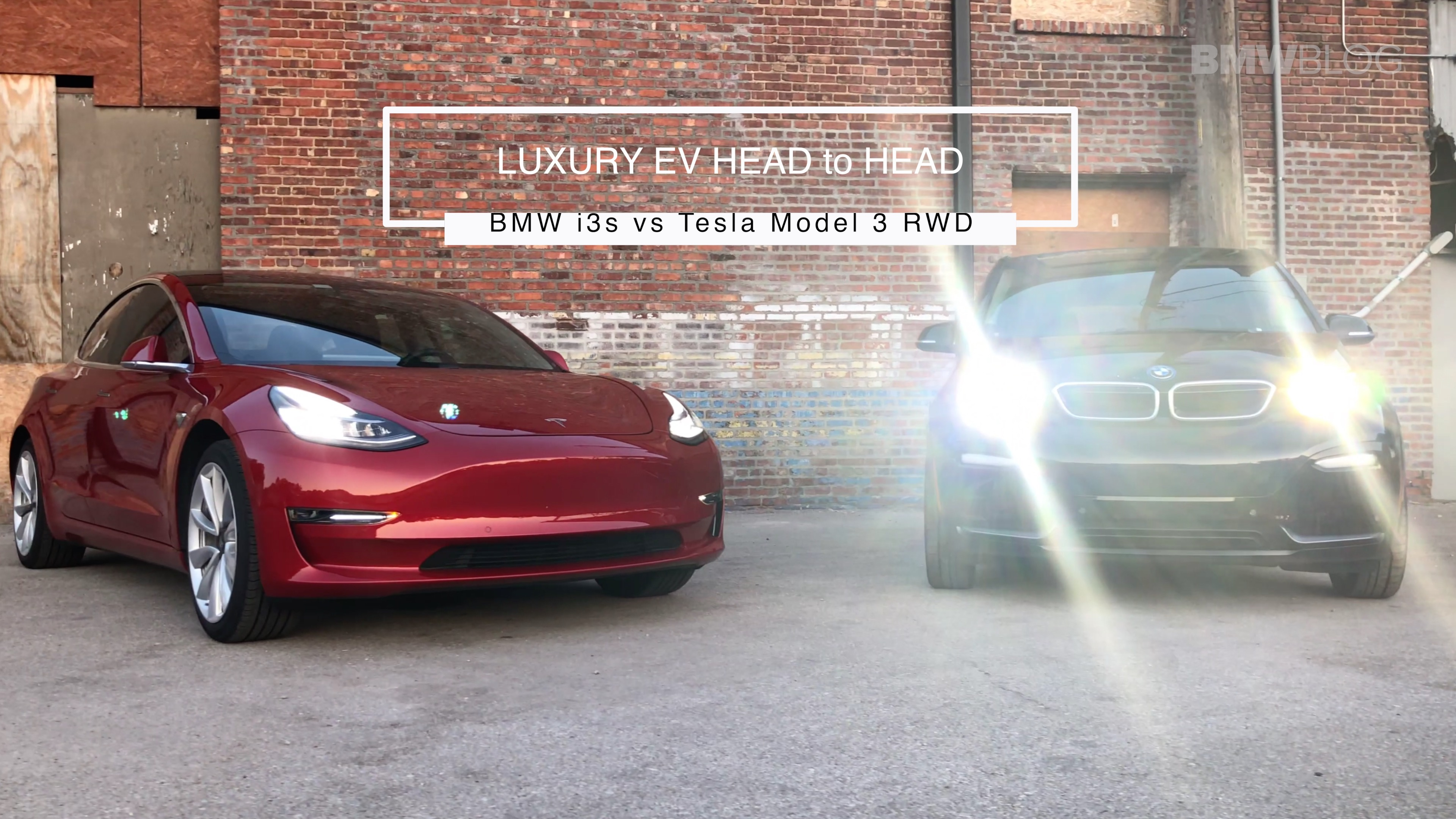 EV Battle: BMW i3s vs  Tesla Model 3