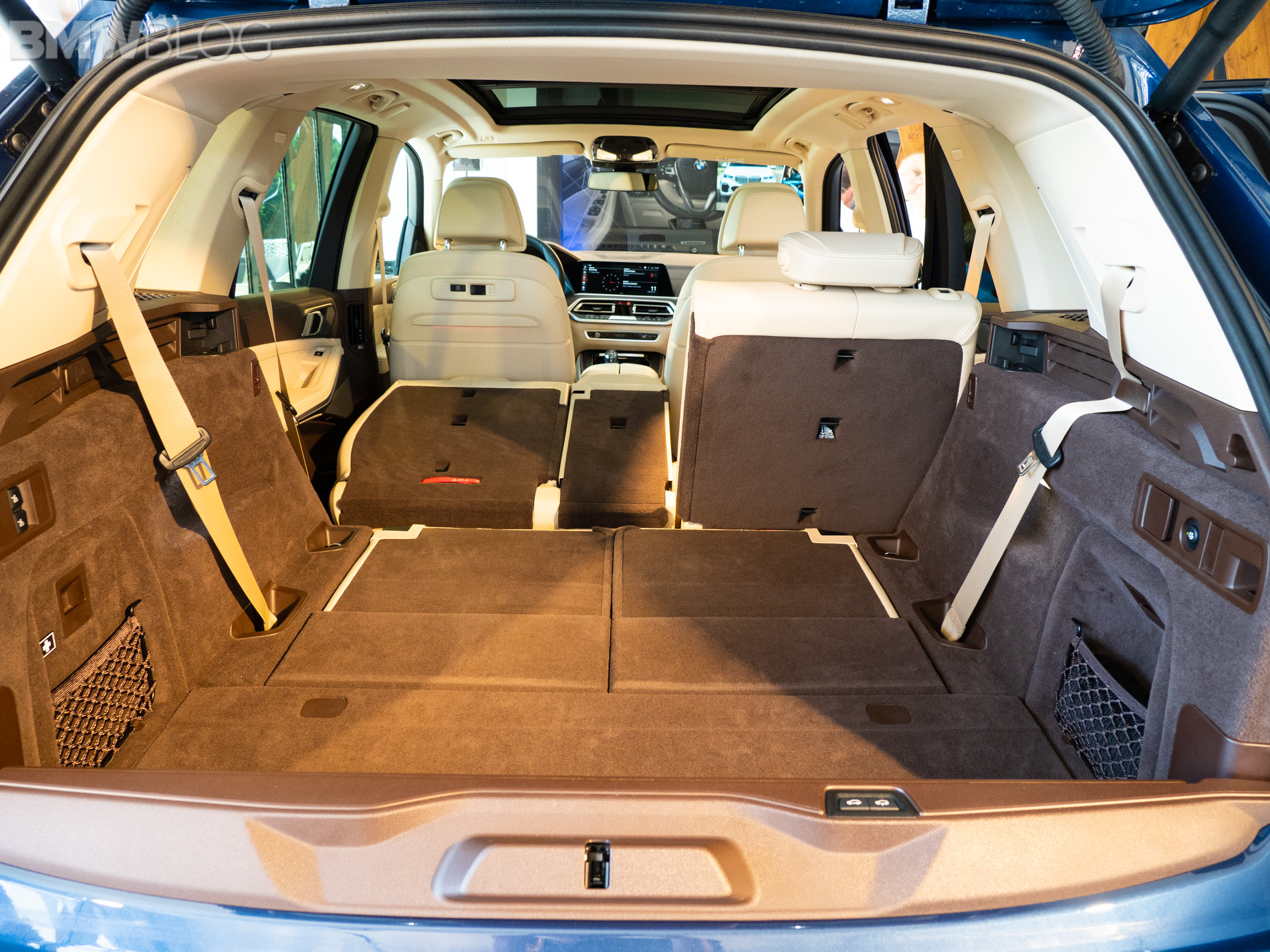 First look at the third-row seat in the new BMW X5