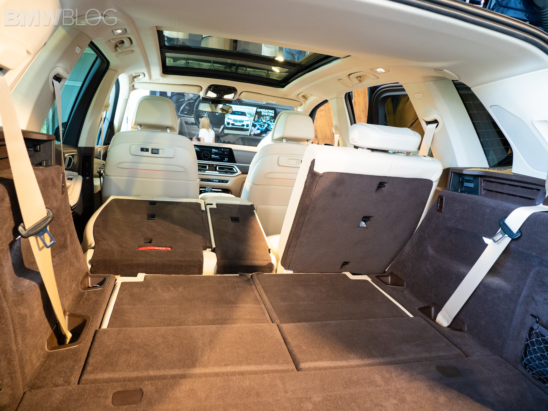 First Look At The Third Row Seat In The New Bmw X5