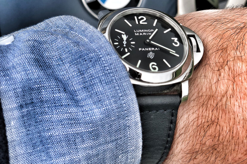 panerai luminor bmw 830x553