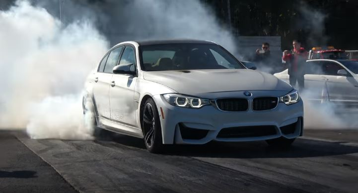 1100 hp bmw m3 goes drag racing ties dodge demon 129829 1