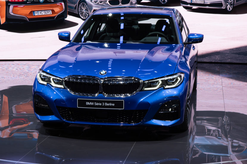 2019 BMW 3 Series Paris Motor Show 44 830x553