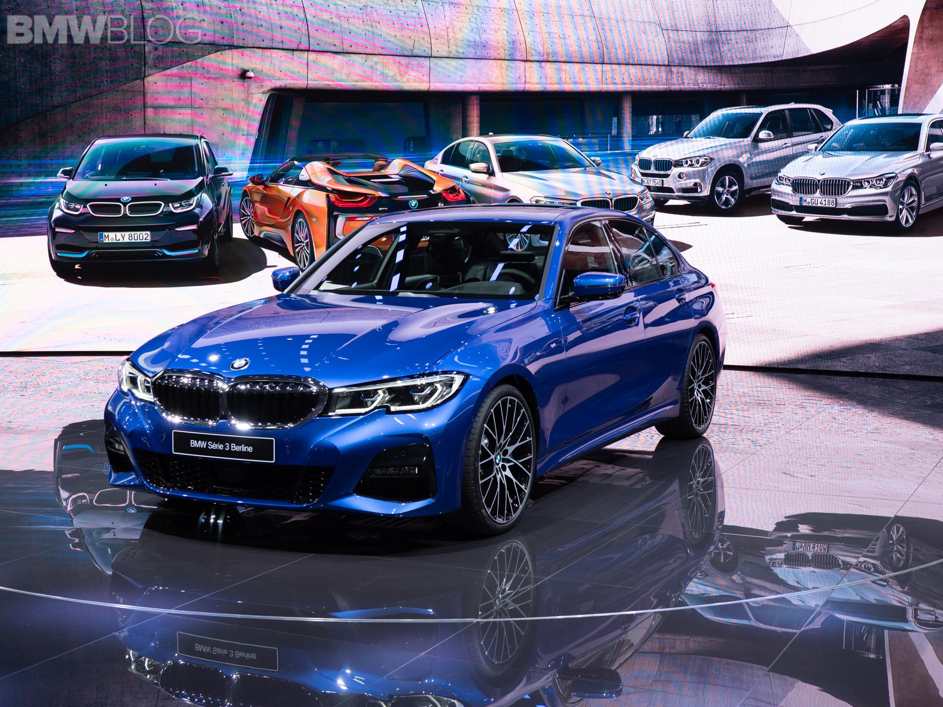 2019 BMW 3 Series Paris Motor Show 45