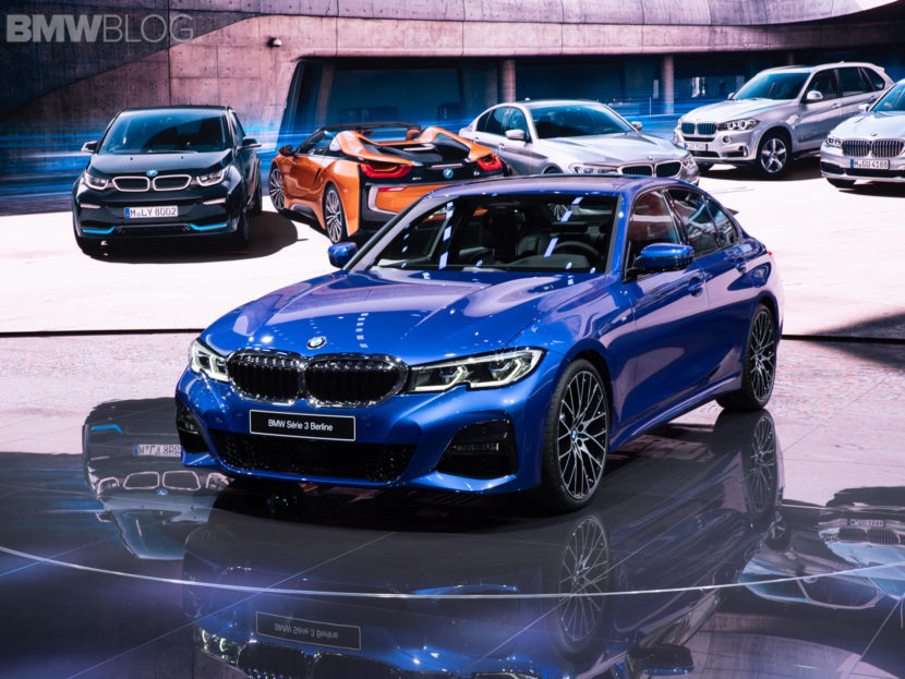 2019 BMW 3 Series Paris Motor Show 48 830x623
