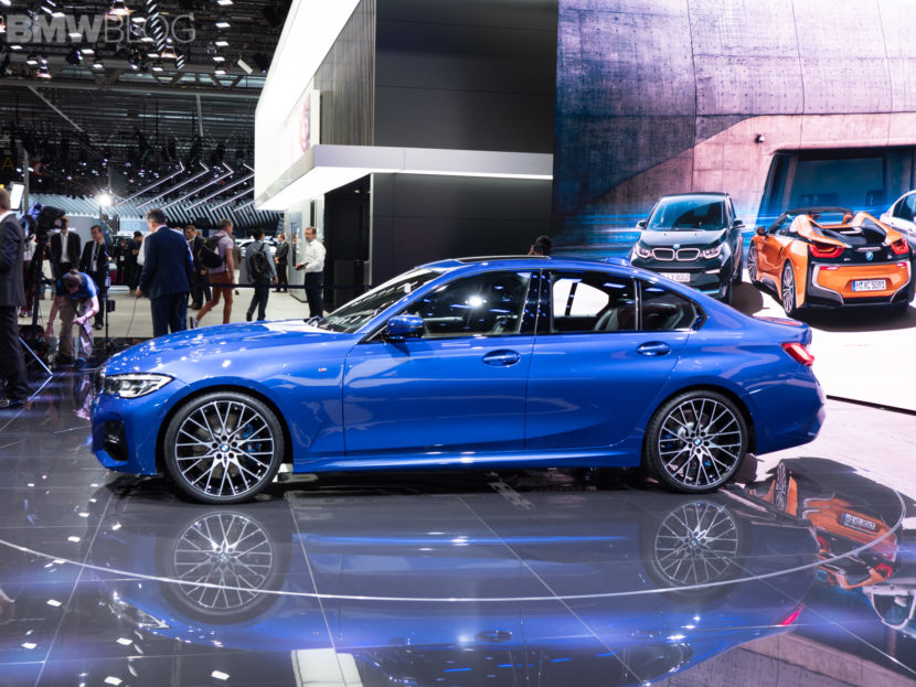 2019 BMW 3 Series Paris Motor Show 54 830x623
