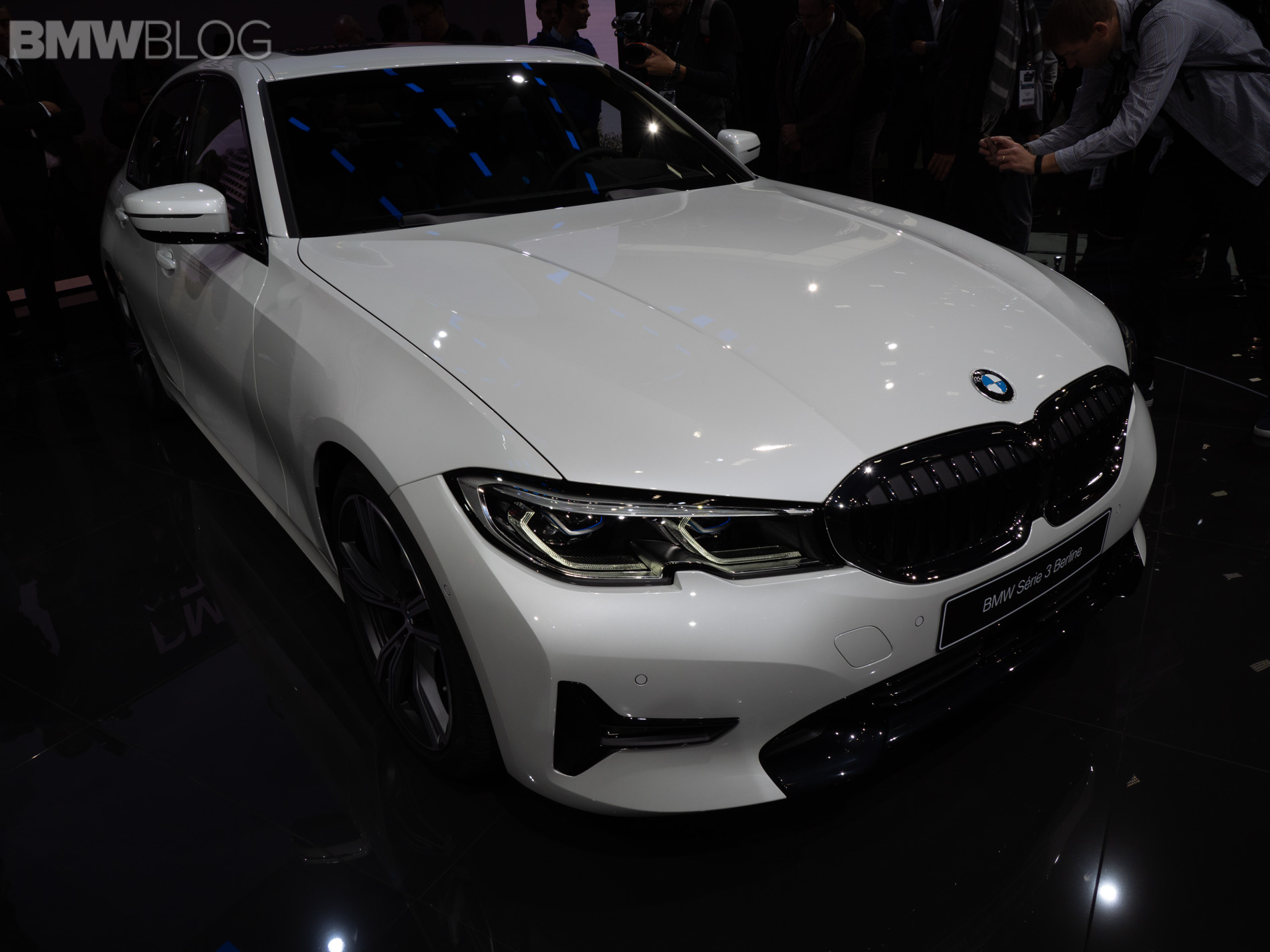 2019 BMW 3 Series Paris Motor Show 6