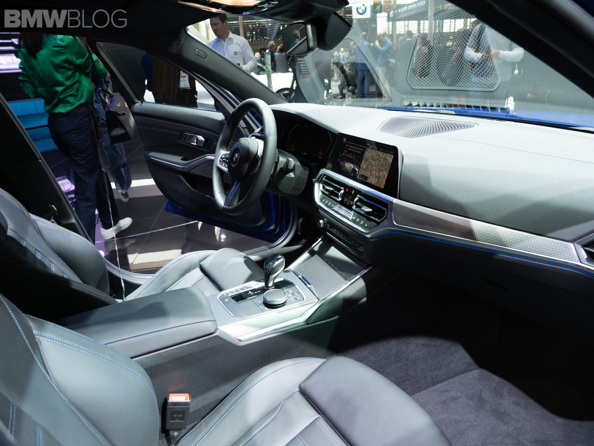 more live photos of the new bmw 3 series g20. Black Bedroom Furniture Sets. Home Design Ideas