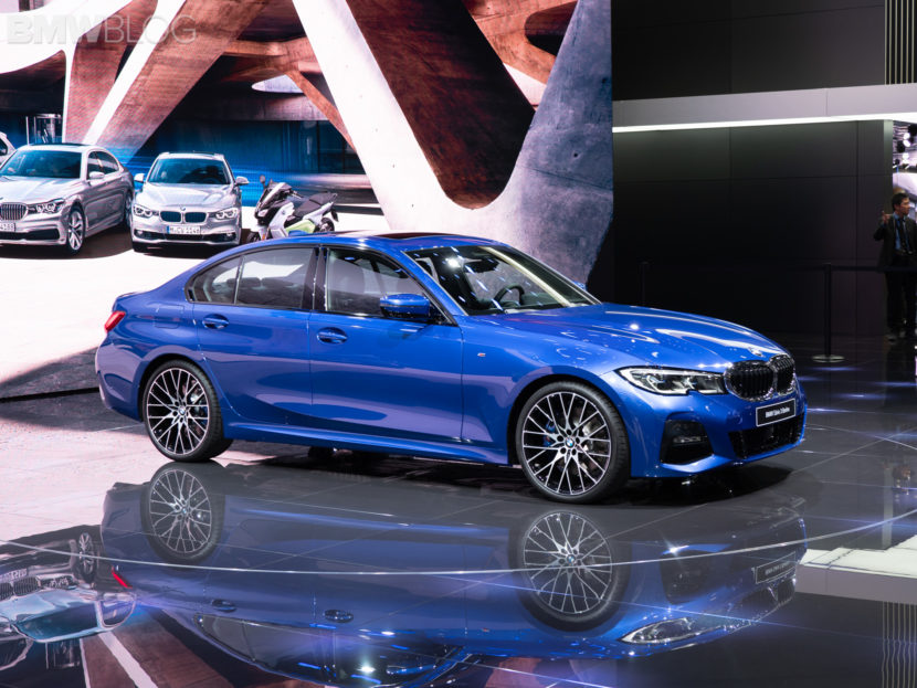 more live photos of the new bmw 3 series g20 i new cars. Black Bedroom Furniture Sets. Home Design Ideas