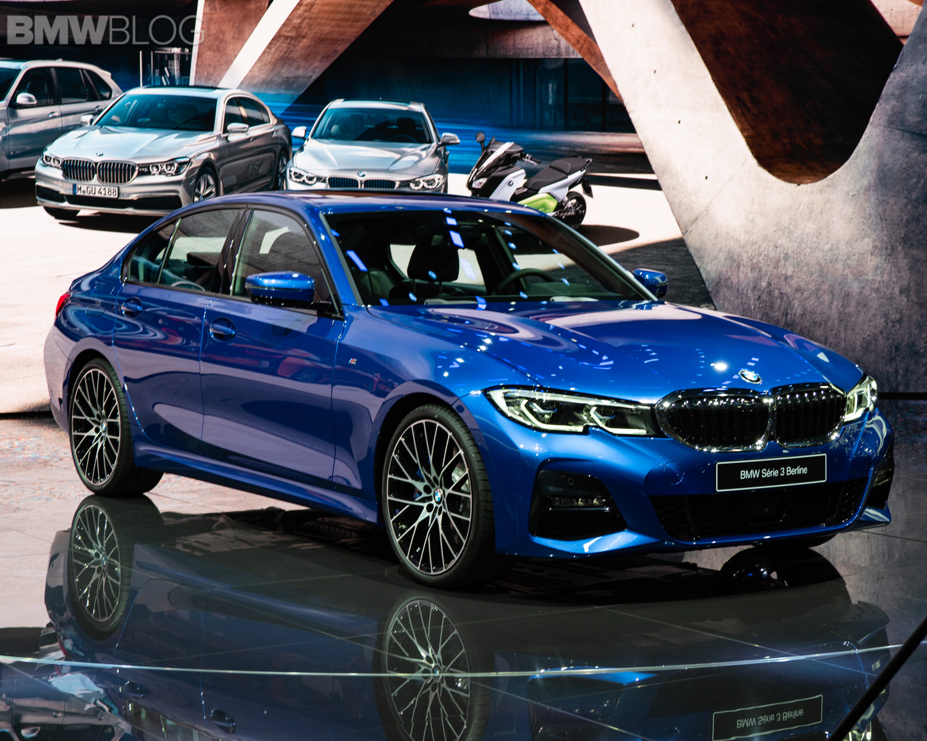 2019 BMW 3 Series real life G20 2