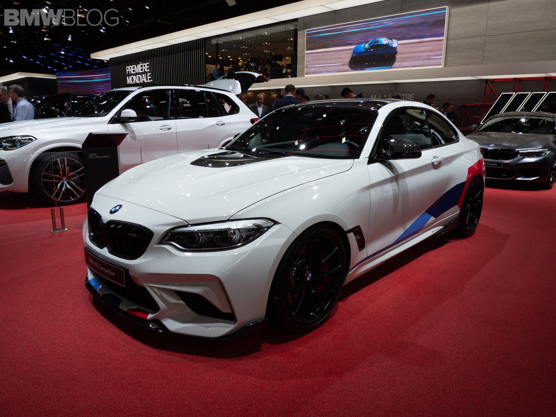 paris 2018 bmw m2 competition with m performance parts. Black Bedroom Furniture Sets. Home Design Ideas