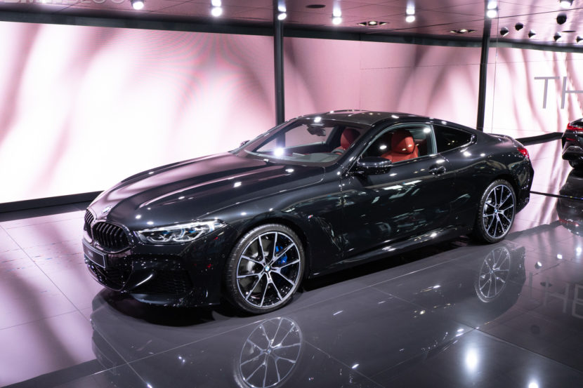 2019 BMW M850i Coupe Black 1 830x553