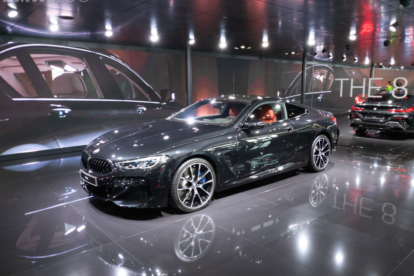 2019 BMW M850i Coupe Black 2 830x553