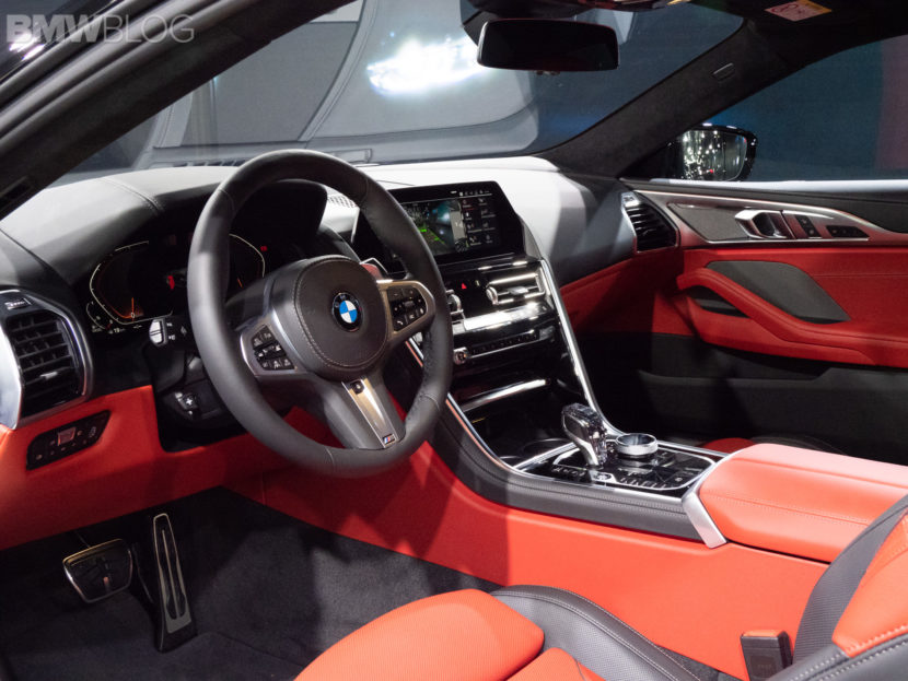 2019 BMW M850i Coupe Black 23 830x623