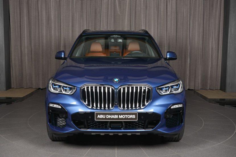 2019 BMW X5 G05 Phytonic Blue M Sport xDrive50i 02 830x553