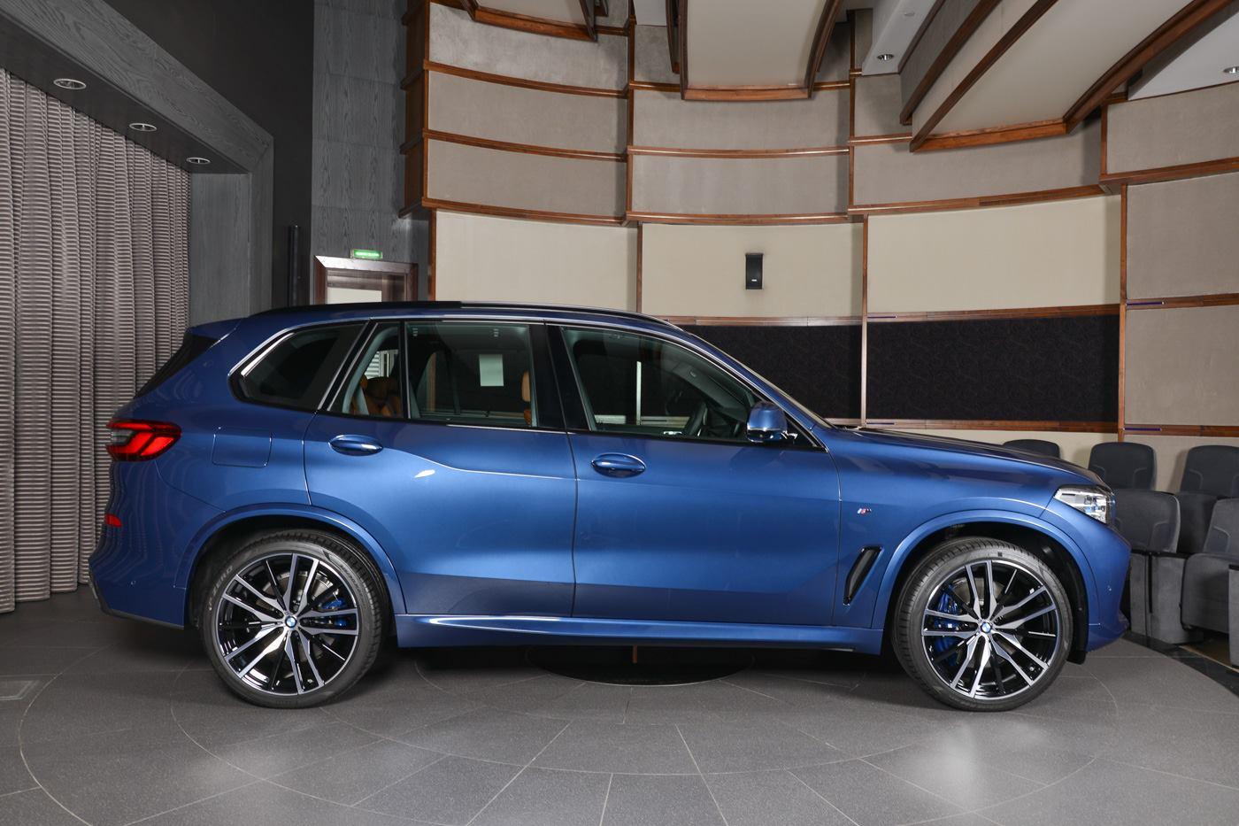 2019 BMW X5 G05 Phytonic Blue M Sport xDrive50i 04
